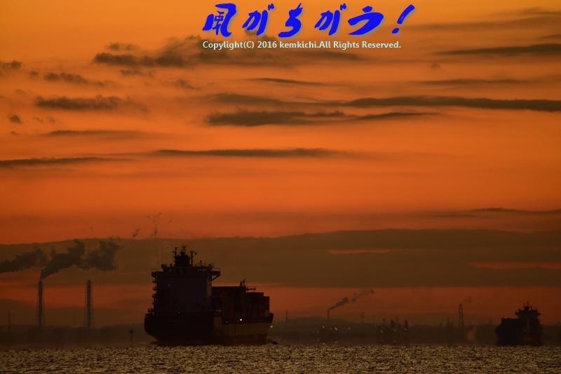 城南島海浜公園 日の出 004