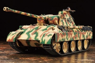 ふるさと納税静岡市特典タミヤ1/35プラモデル(ドイツ戦車パンサーD型) (A-33)