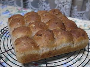 16分割パン
