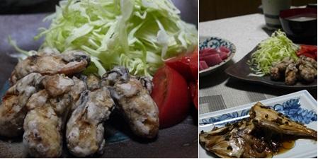 2016牡蠣のから揚げとペースト