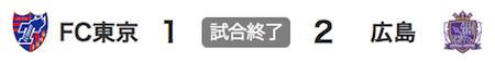 1226東京1-2広島