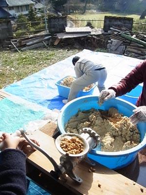 味噌作り2016