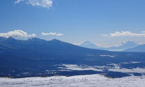 やっとスキーに行きました1