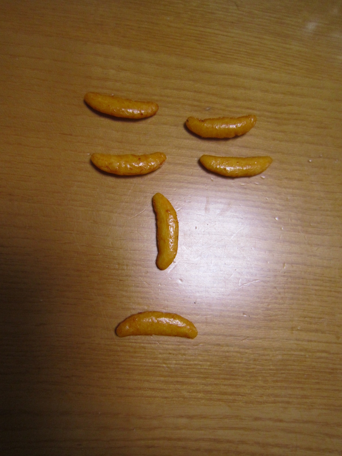 悲しい柿の種。