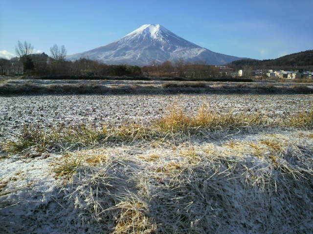 富士吉田初雪