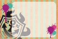 スプラトゥーン メッセージカード ガチロゴ