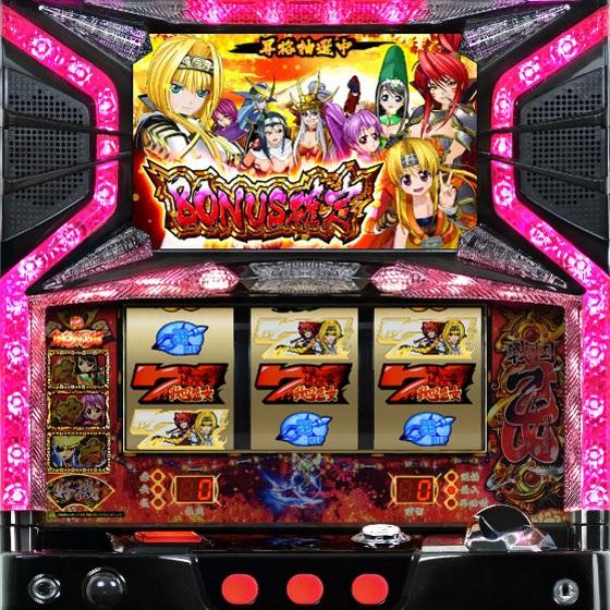 体験無料のパチンコ&スロットオンラインゲーム『777タウン.net』 オリンピアのパチスロ「戦国乙女~剣劇に舞う白き剣聖~」正式版の登場