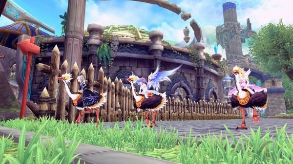 基本プレイ無料のアニメチックファンタジーオンラインゲーム『幻想神域』 「ピピスレース」」を実装!最速のピピス乗りを決定