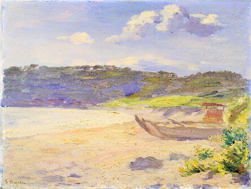 黒田清輝 1866-1924夏の海 (2)