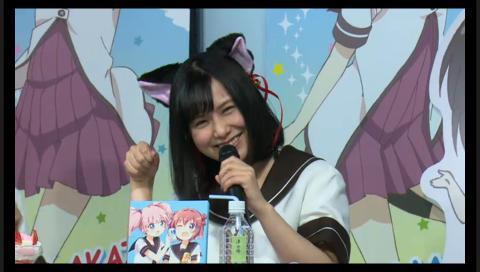 「ゆるゆり さん☆ハイ!」&「GOOD SMILE×animate cafe」 コラボ トークショー&公開ニコ生