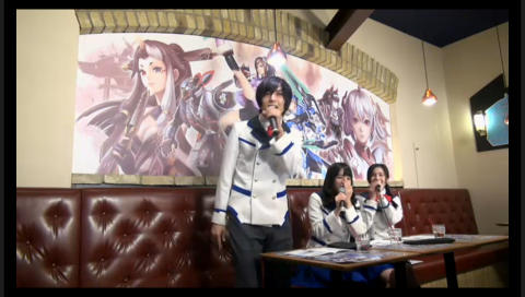 TVアニメ『PSO2 ジ アニメーション』放送記念 清雅学園生徒会 特別会議