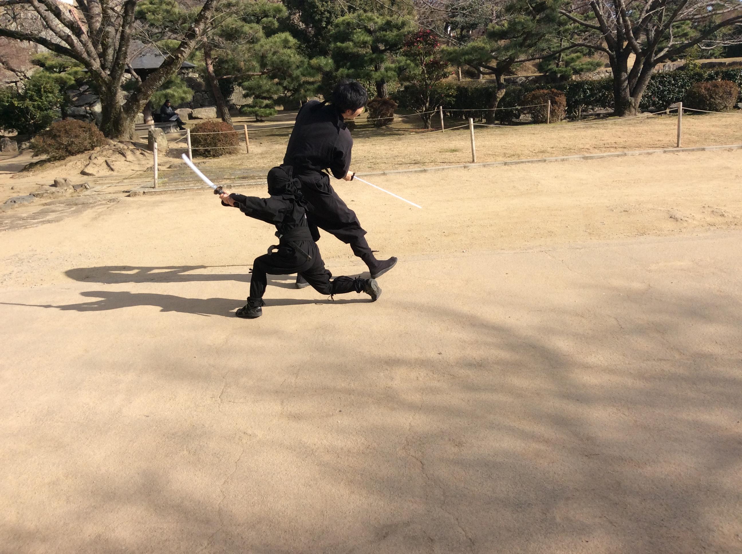 北海道から体験殺陣