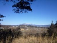 本丸北から八ヶ岳を望む