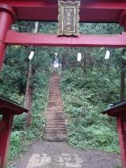 藤武神社の階段