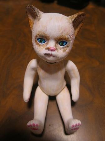 160130 鼻くそ模様の子猫