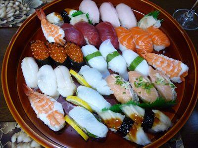 大晦日はお寿司