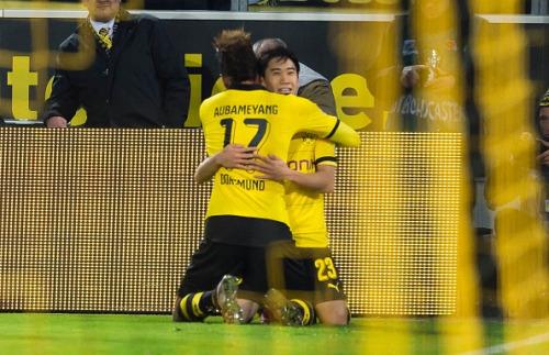 Dortmund! 4_1-HEIMSIEG BVB 4_1 Frankfurt kagawa auba