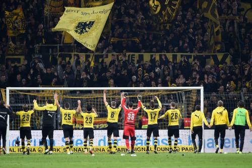 Dortmund! 4_1-HEIMSIEG BVB 4_1 Frankfurt