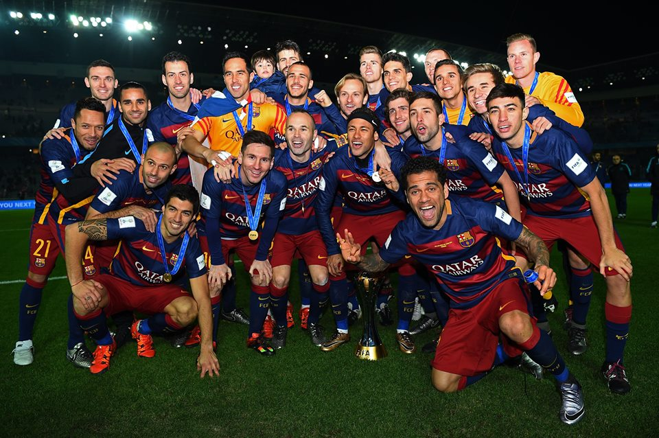 Barcelona to beat River Plate 3-0 and win the FIFA Club World Cup Japan 2015