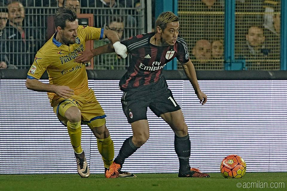 Frosinone Calcio VS AC Milan 2-4