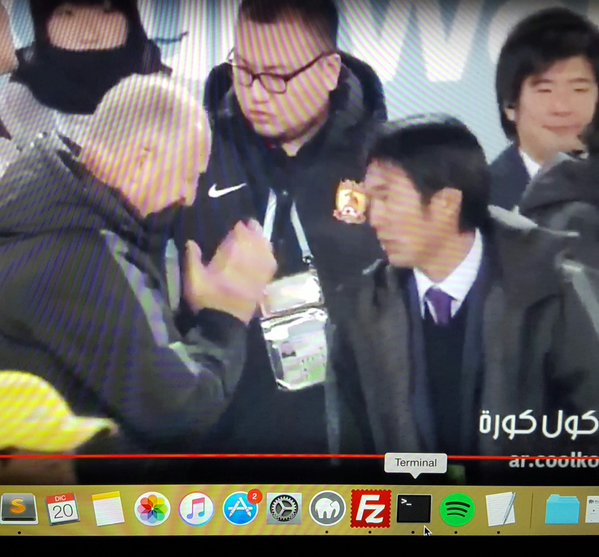 Nice gesture by Scolari to the winner of 3rd place in the #ClubWorldCup Sanfrecce Hiroshima