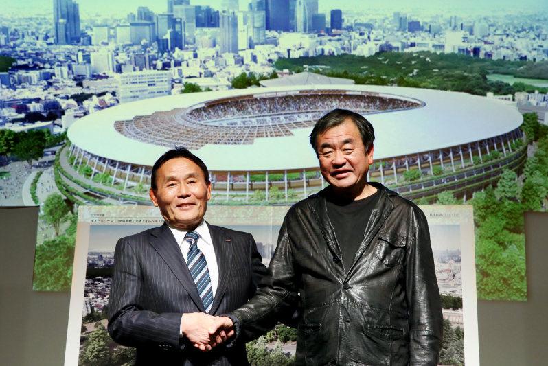 similarities of Tokyo 2020 Olympic stadium