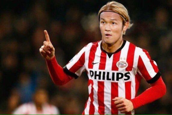 Usami in PSV-shirt Neem zeker nu alles met korrel zout want door de CL zijn we heel interessant voor name-dropping