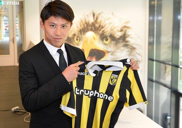 Linksbenige verdediger Kosuke Ota tekent 4,5-jarig contract bij #Vitesse