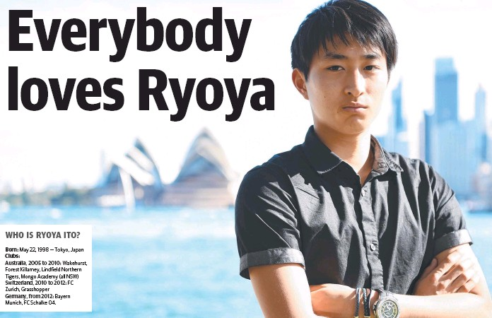 ito Rio's choice Socceroos Japan or Germany