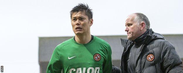 kawashima Dundee 2-1 Dundee United