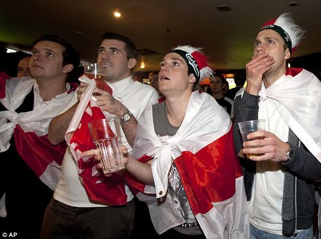 pub england fan