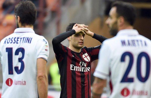 Milan 0-1 Bologna 2016