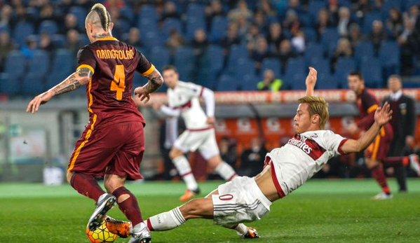RomaMilan 1-1 goal by Kucka honda assists