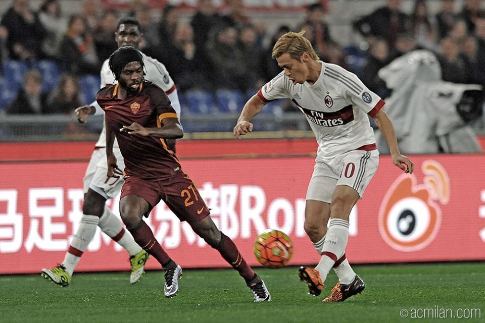 RomaMilan 1-1 goal by Kucka