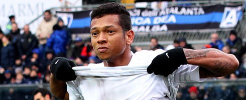 Fredy Guarin's Jiangsu move expected tomorrow inter