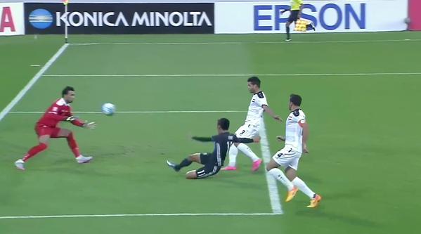 Japan take the lead in the #AFCU23 semi-final kubo yuya