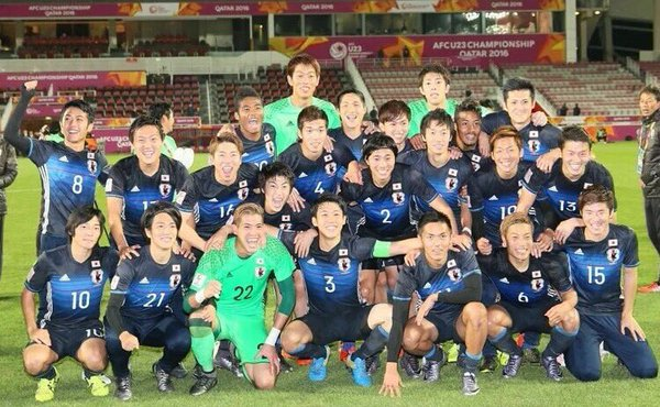 Japan heading to #Rio2016 dramatic late winner against Iraq in #AFCU23 SF