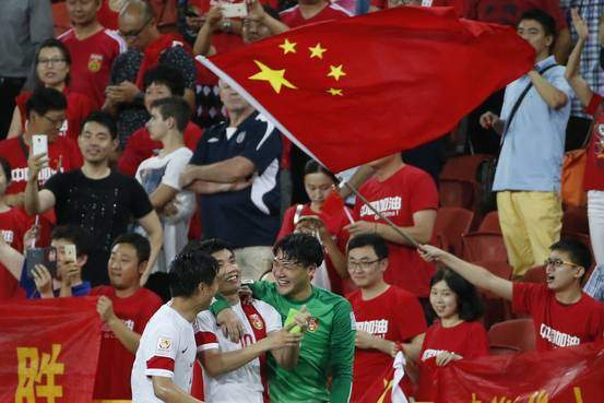 China Looks Abroad for Soccer Talent