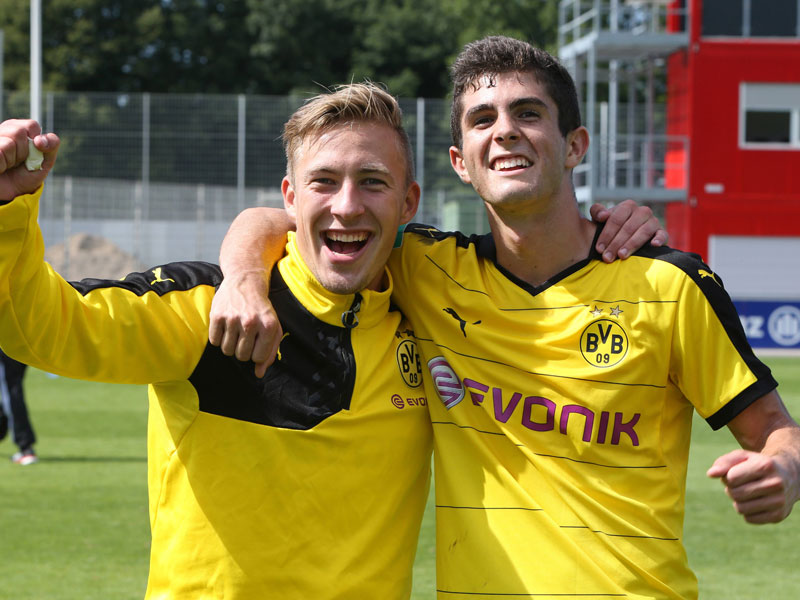 Pulisic and Passlack