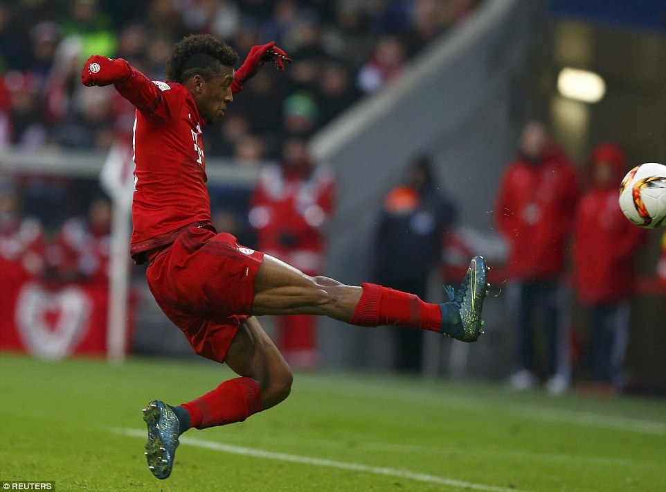 Kingsley Coman thighs