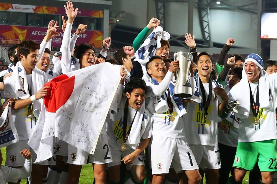 Japan win AFC U-23 Championship