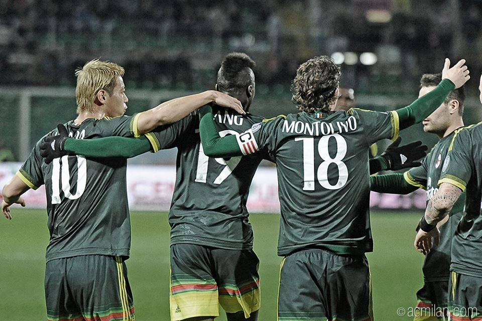 PalermoMilan 0-2, goals by Carlos Bacca and MBaye Niang