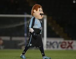 Wycombe Wanderers mascot Bodger