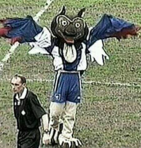 Chaddy the Owl Oldham Athletic