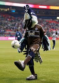 Vancouver Whitecaps FC mascot