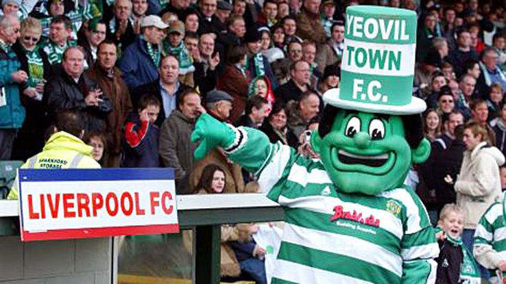 Yeovil mascot