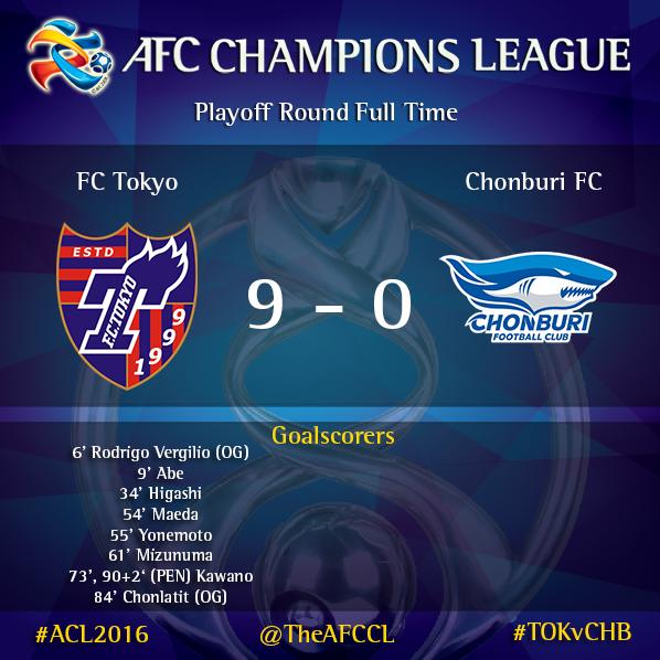 fctokyo_express 9-0 Chonburi FC