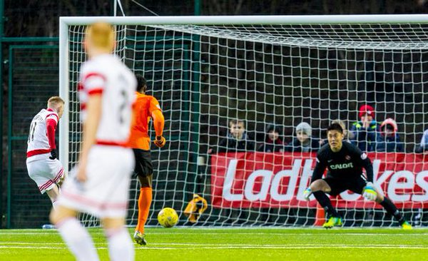 Hamilton Accies v Dundee United 0_0 kawashima pk saves
