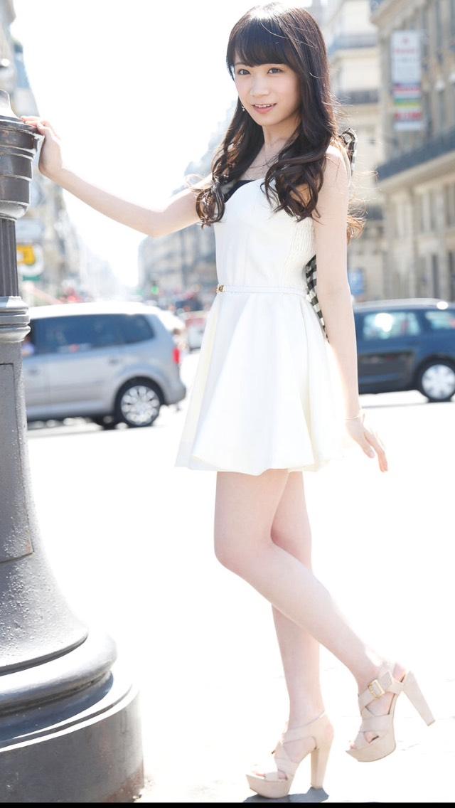 白い天使の秋元真夏