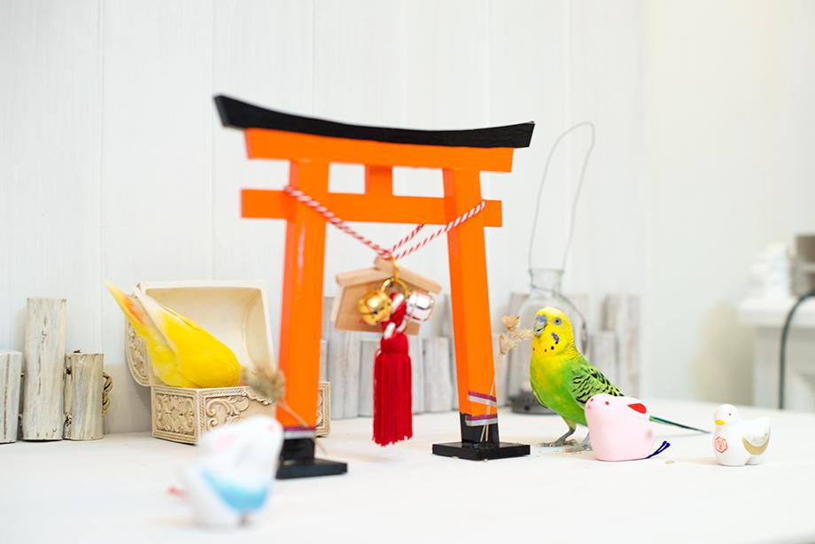 伏見稲荷大社 ミニ鳥居
